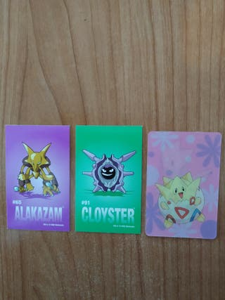 Pokemon stickers Sandylion Lenticular Kellogg,s