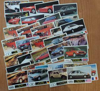 Cartas coleccionables de Automoviles Autocolor
