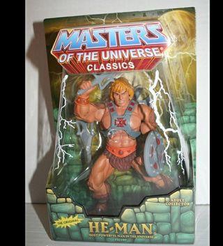 FIGURA MASTERS DEL UNIVERSO MOTUC HE-MAN
