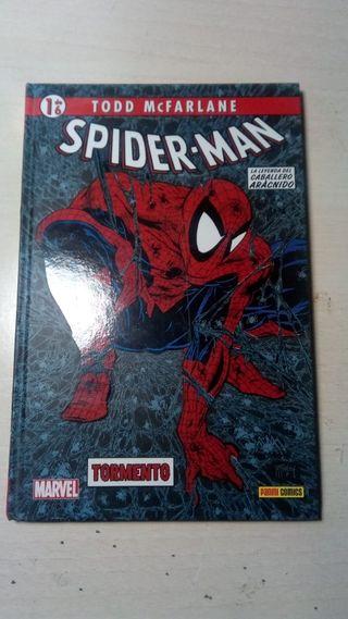 Comic del amazing Spiderman