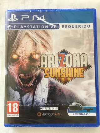 Arizona sunshine ps4 precintado