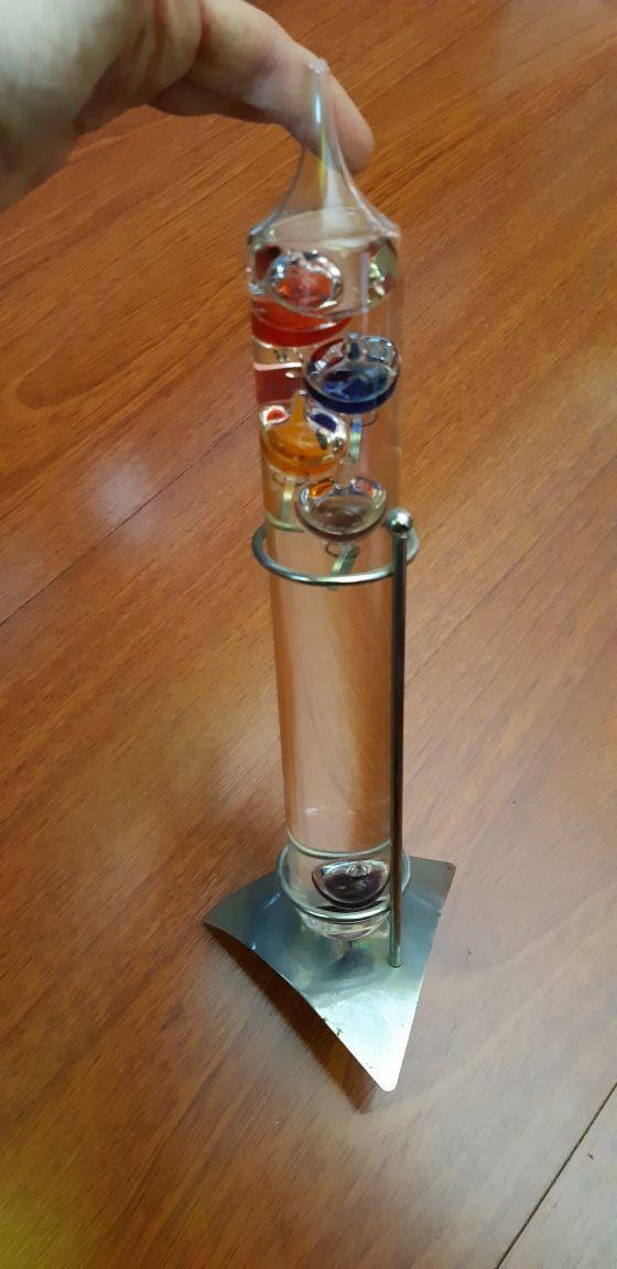 termómetro de Galileo