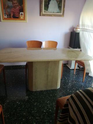mesa marmol