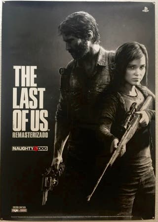 Póster The last of us remasterizado