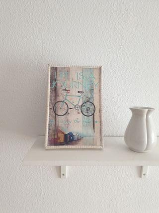cuadro bici vintage