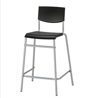 Taburete alto de Ikea