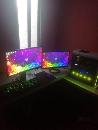 vendo setup completo pc gaming 144hz