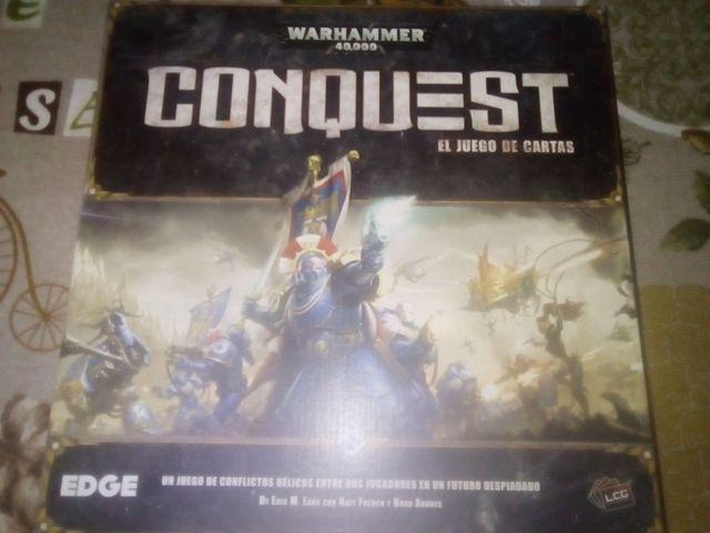 Juego de cartas Warhammer 40000 conquest