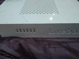 Router LiveBox 2.1 Fibra de Orange con 1 Gbps