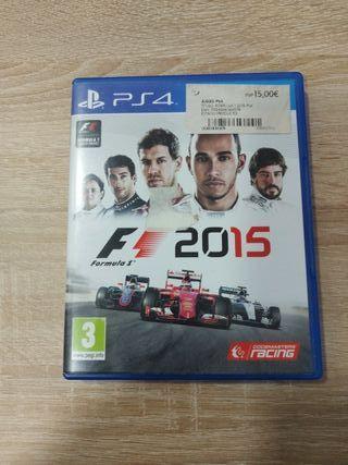 Juego F1 2015