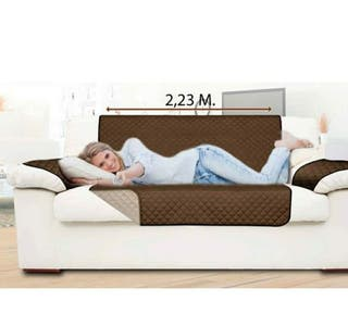 Funda protectora de sofa reversible