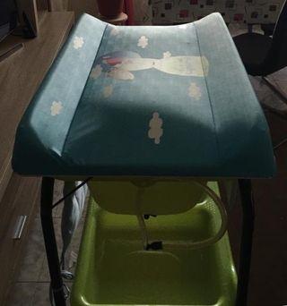 Bañera/cambiador para bebé JANÉ