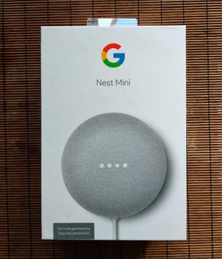 Altavoz Inteligente -Google Nest Mini