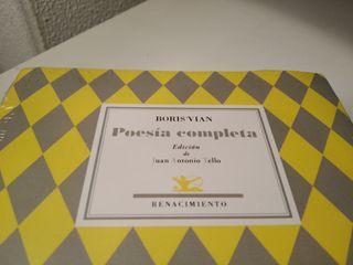 Boris Vian *Poesía completa* Bilingüe Fr/Es. Nuevo