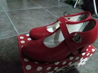 zapatos tacon niña