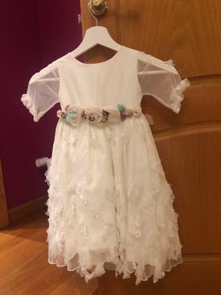 Vestido Boda Infantil 6-7 años