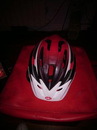 casco bicicleta Bell sin uso