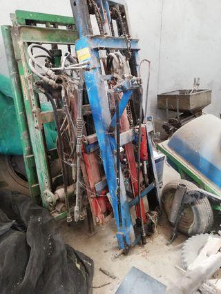 Toro elevador hidráulico para tractores
