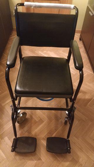 silla ruedas tránsito