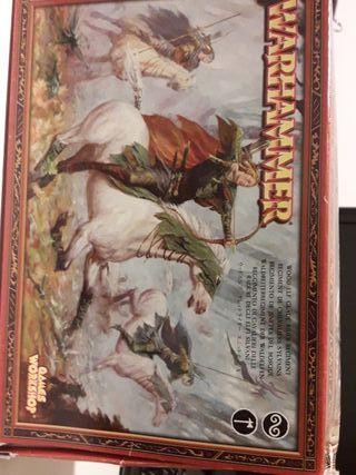 Warhammer JINETES DEL BOSQUE+ Pintura