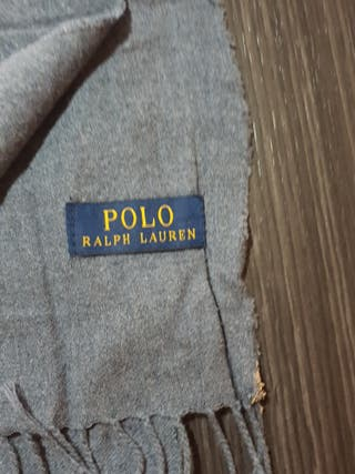 Fular gris Ralph Lauren