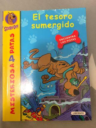 Dos libros Scooby-Doo