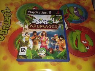 Los Sims 2 Naufragos para PS2