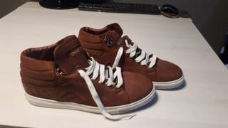 Zapatillas de hombre de piel Dsquared2