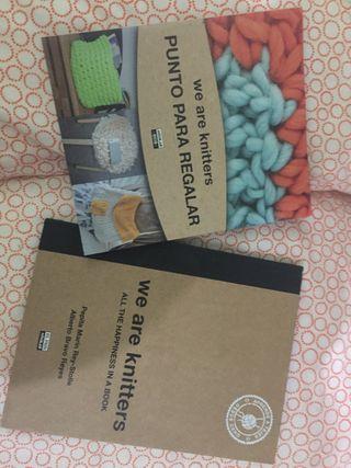 Libros con patrones lana