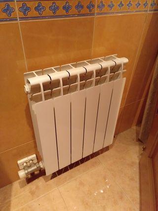 3 Radiadores aluminio de agua