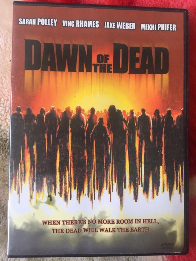 DVD dawn of the dead.