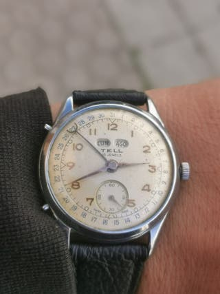 reloj Triple Calendario