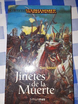 libro warhammer los jinetes de la muerte