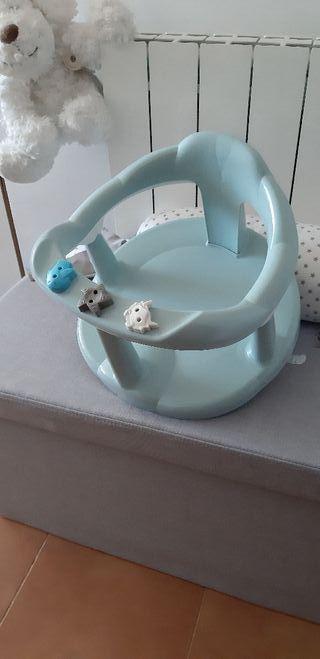 Asiento soporte de baño bebe