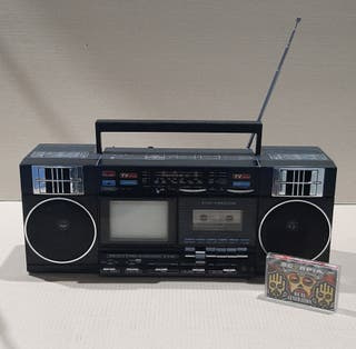 BOOMBOX Retro 3 en 1 , RADIO-CASSET-TV