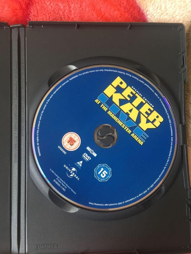 DVD peter Kay live.