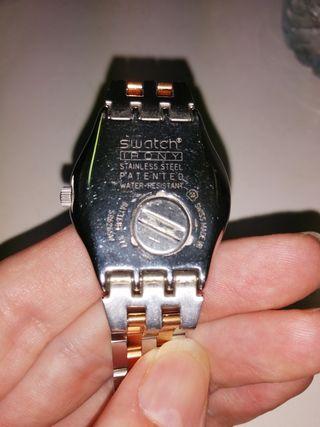 reloj swatch chica talla pequeña