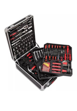 The Tool Kit with Everything All in a carry case