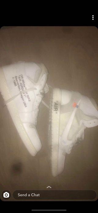 Off White Jordan 1 Retro Size 9