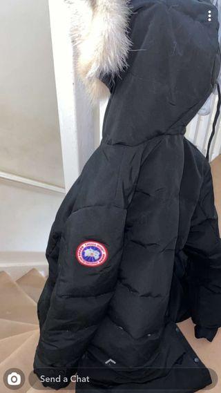 Canada Goose Coat Black Size Meduim