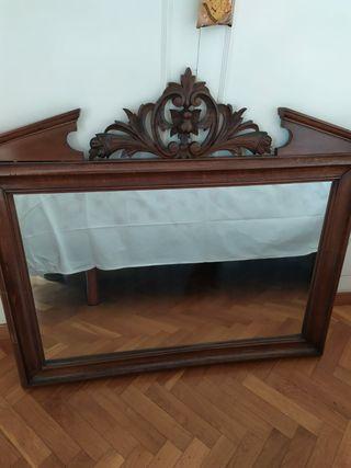 Espejo artesano vintage IMPECABLE