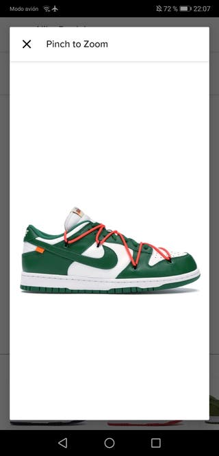 WTB ALL DUNKS X OW