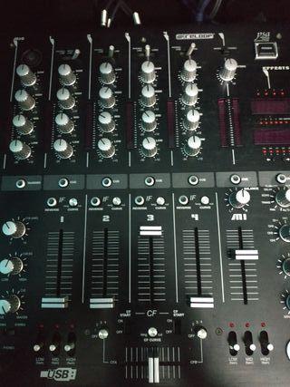 Mesa mezclas Reloop rmx 40 usb