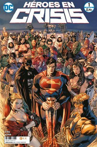 Héroes en Crisis (2019).