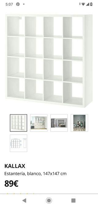 estantería kallal Ikea