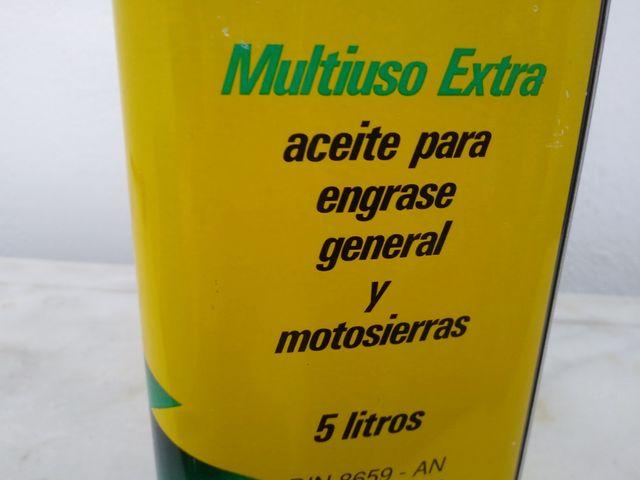 Lata de aceite CS MOTOSIERRA