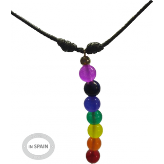 Collar 7 chakras vertical ajustable