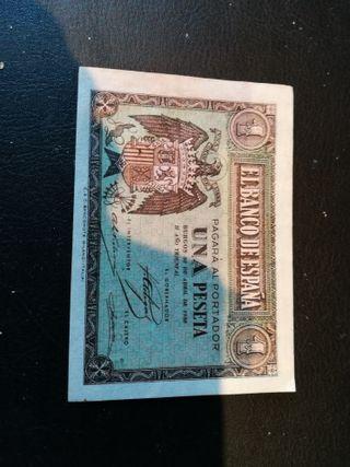 Billete de 1 peseta