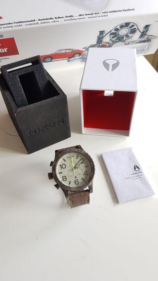Reloj cronografo Nixon 51-30 Tide Gunsmith