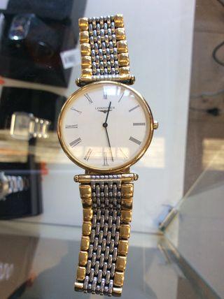 Reloj Longines mujer chapado oro